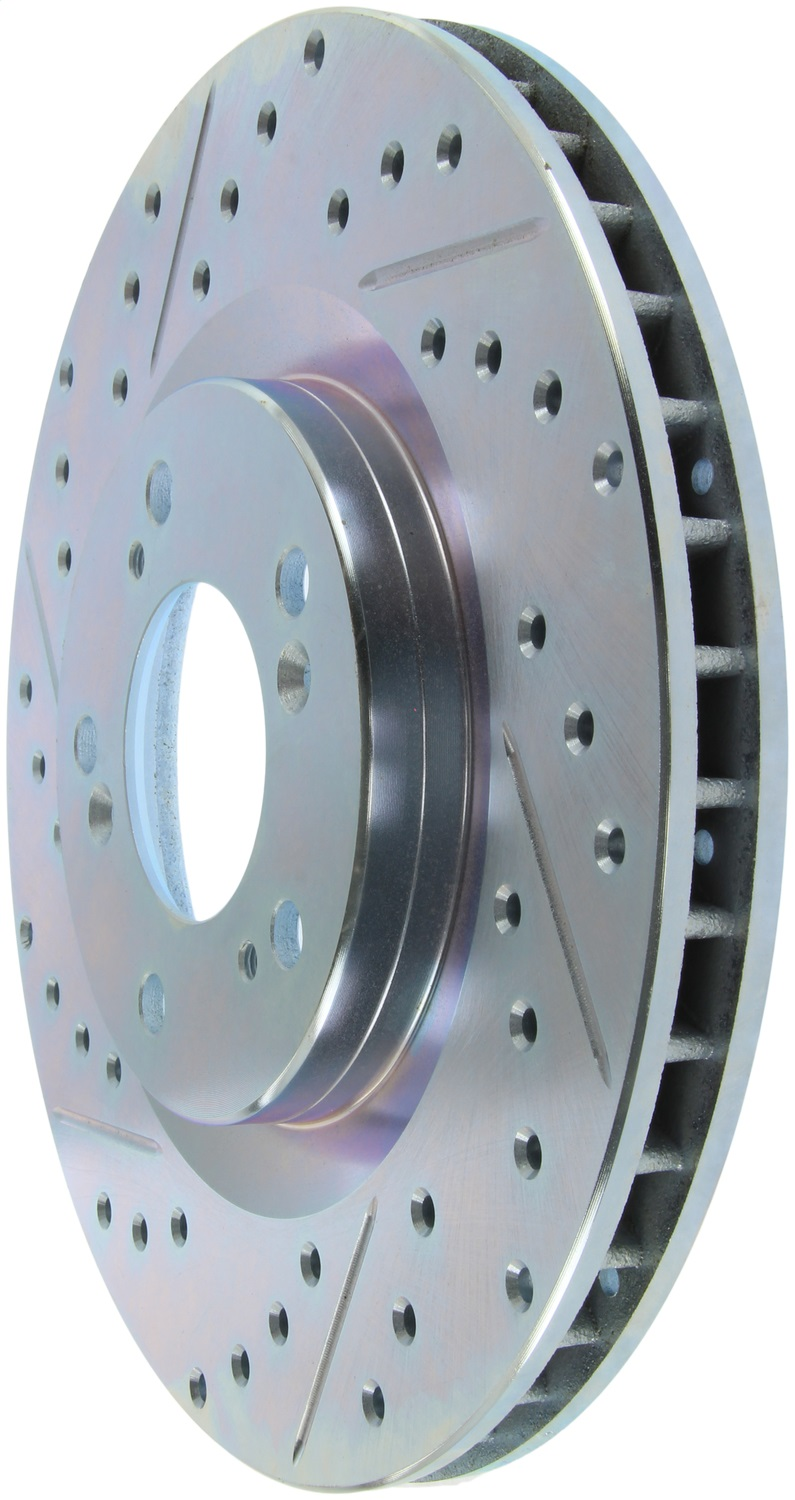 StopTech 227.40048R Select Sport Drilled and Slotted Brake Rotor Front Right Honda S2000 Front Left 2000-2009