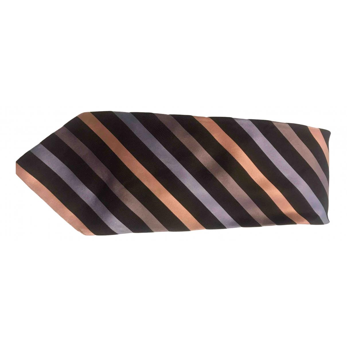 Gucci - Cravates   pour homme en soie - marron