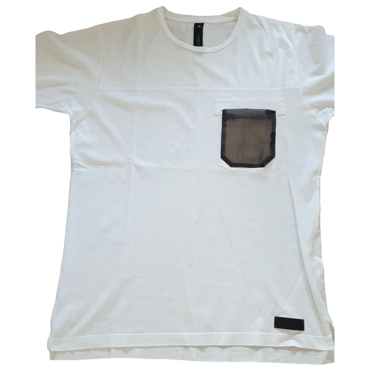 Autre Marque - Tee shirts   pour homme en coton - blanc