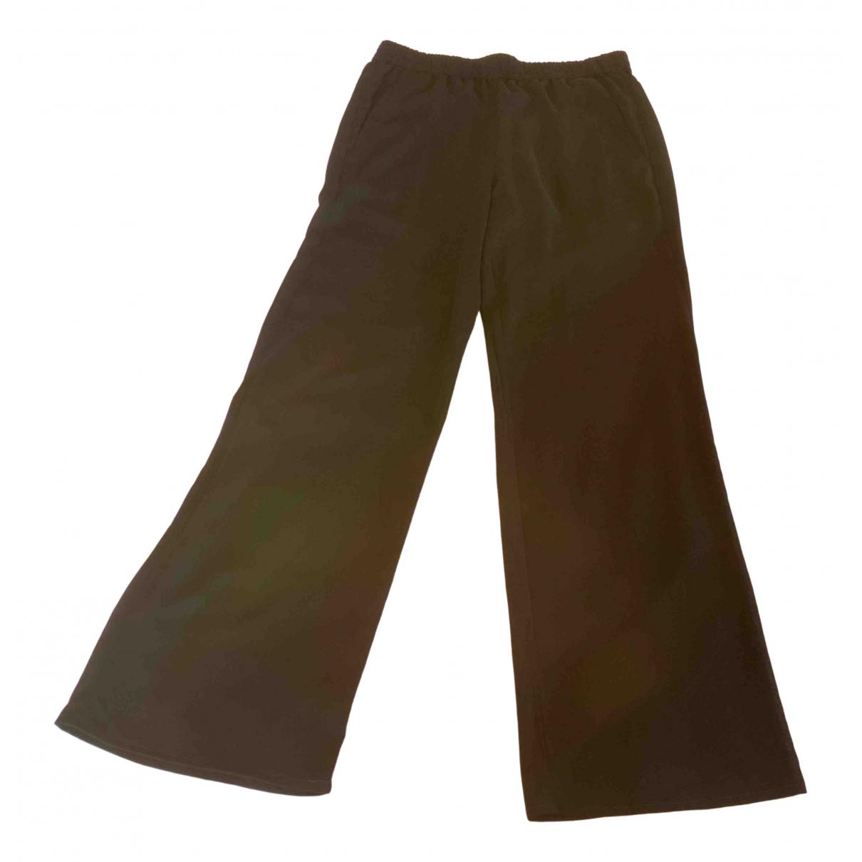 Versus N Black Trousers for Women 42 IT
