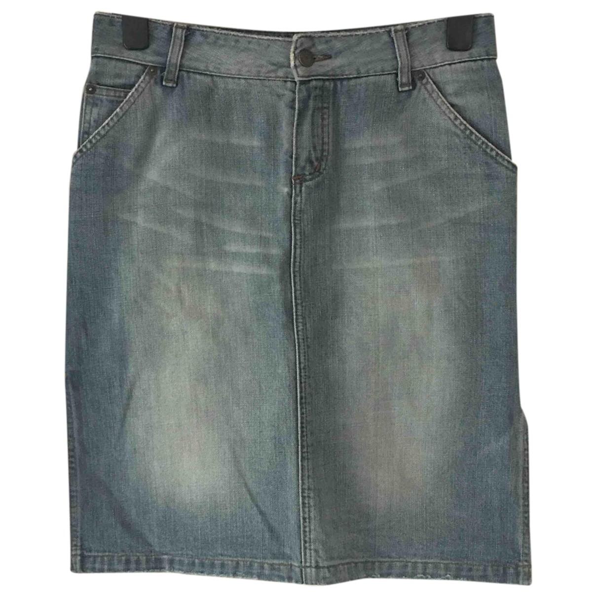Massimo Dutti \N Blue Denim - Jeans skirt for Women 38 IT