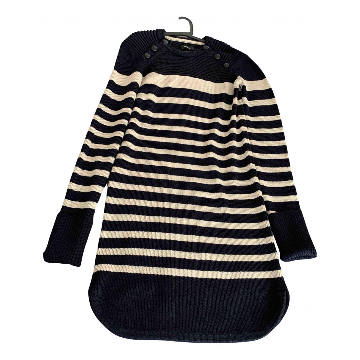 Isabel Marant \N Kleid in  Marine Wolle