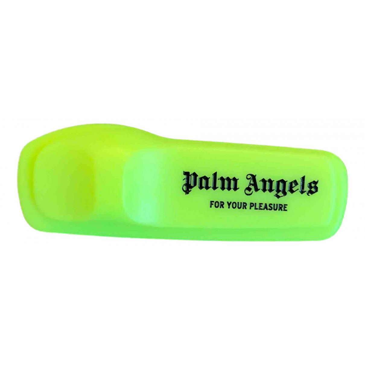 Broche en Plastico Amarillo Palm Angels