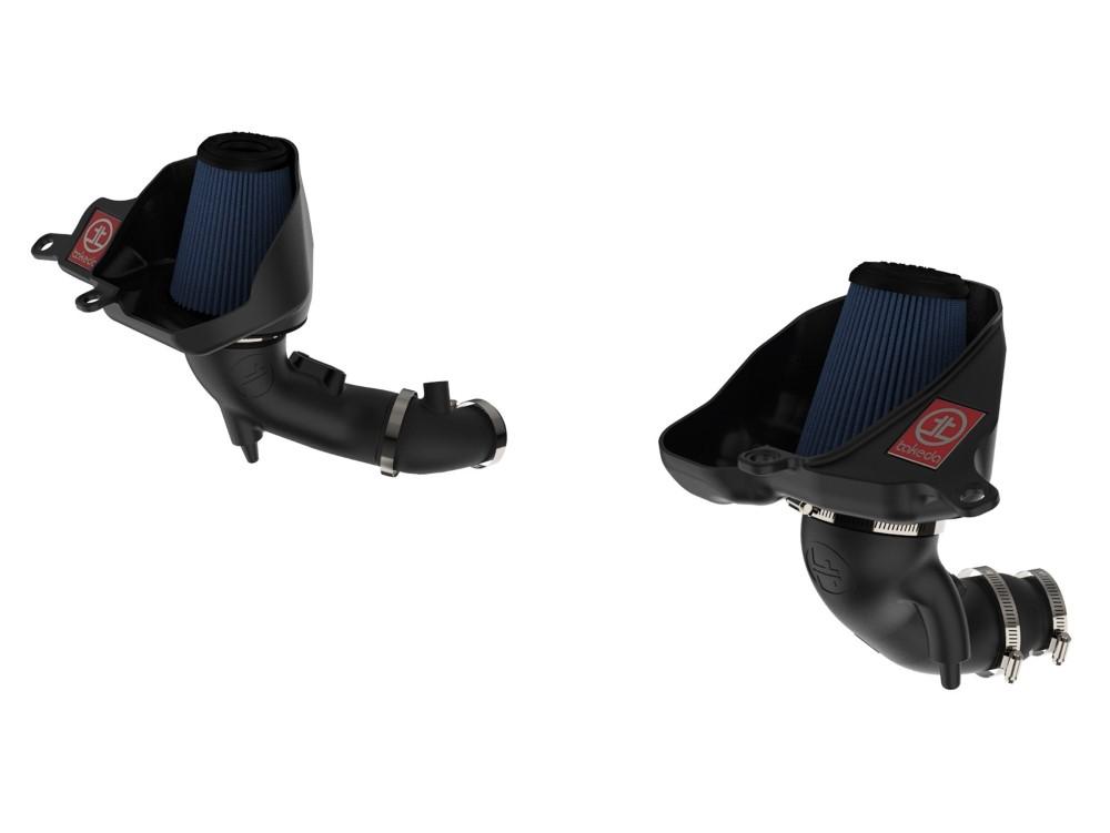 aFe Takeda Stage-2 Cold Air Intake System w/ Pro 5R Media Black Infiniti Q50/Q60 16-19 V6-3.0L (tt)