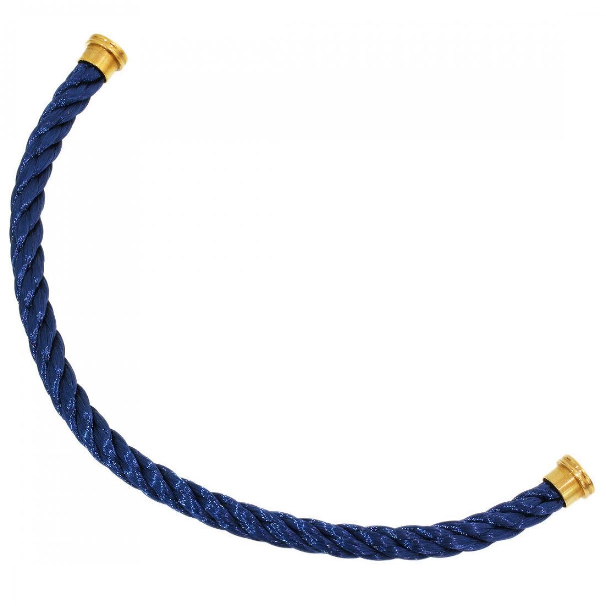 Fred - Bracelet Cable pour femme en or rose