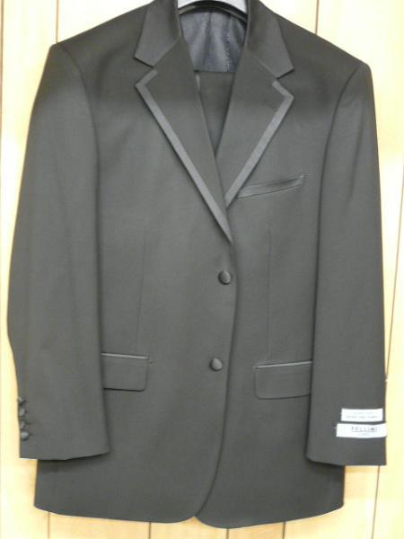 Napoli 2 Button Black Tuxedo