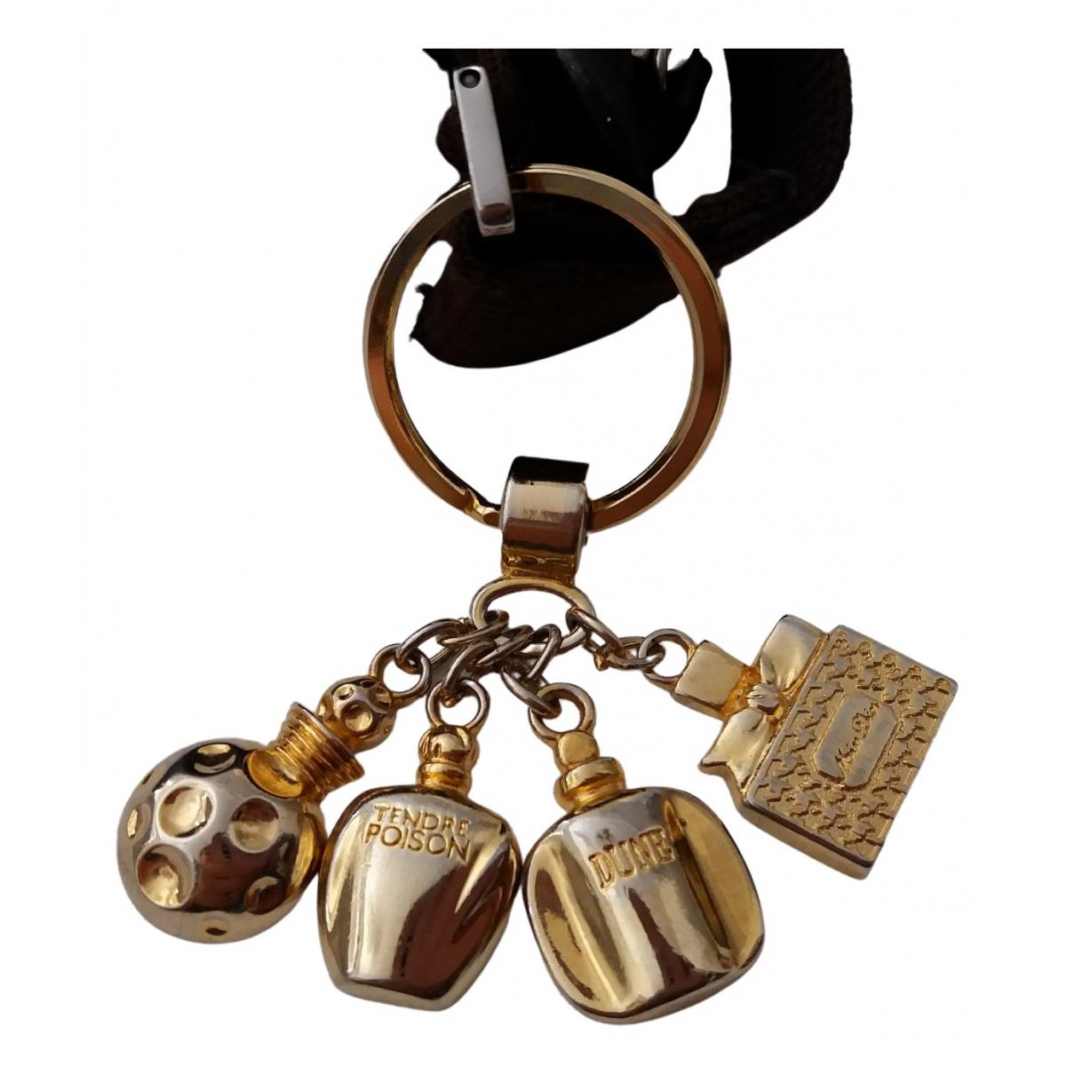Dior - Bijoux de sac   pour femme en metal - dore
