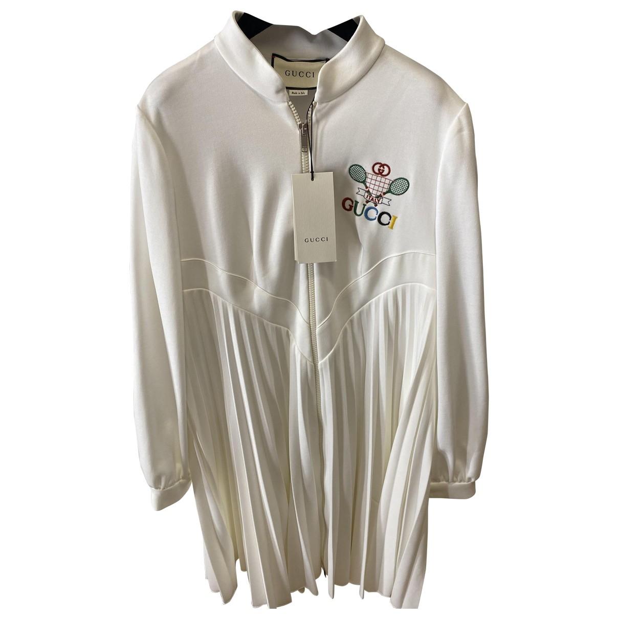 Gucci \N White Cotton dress for Women S International