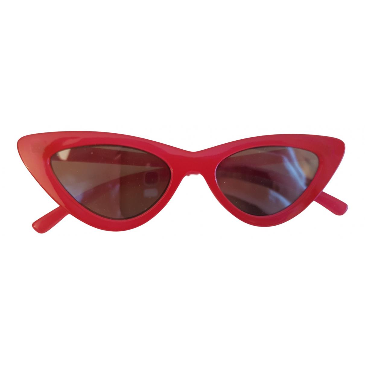 Adam Selman N Red Sunglasses for Women N