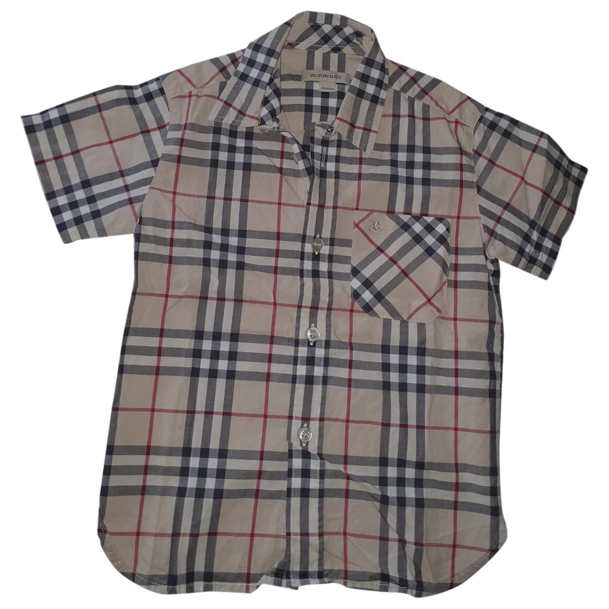 Burberry - Top   pour enfant en coton
