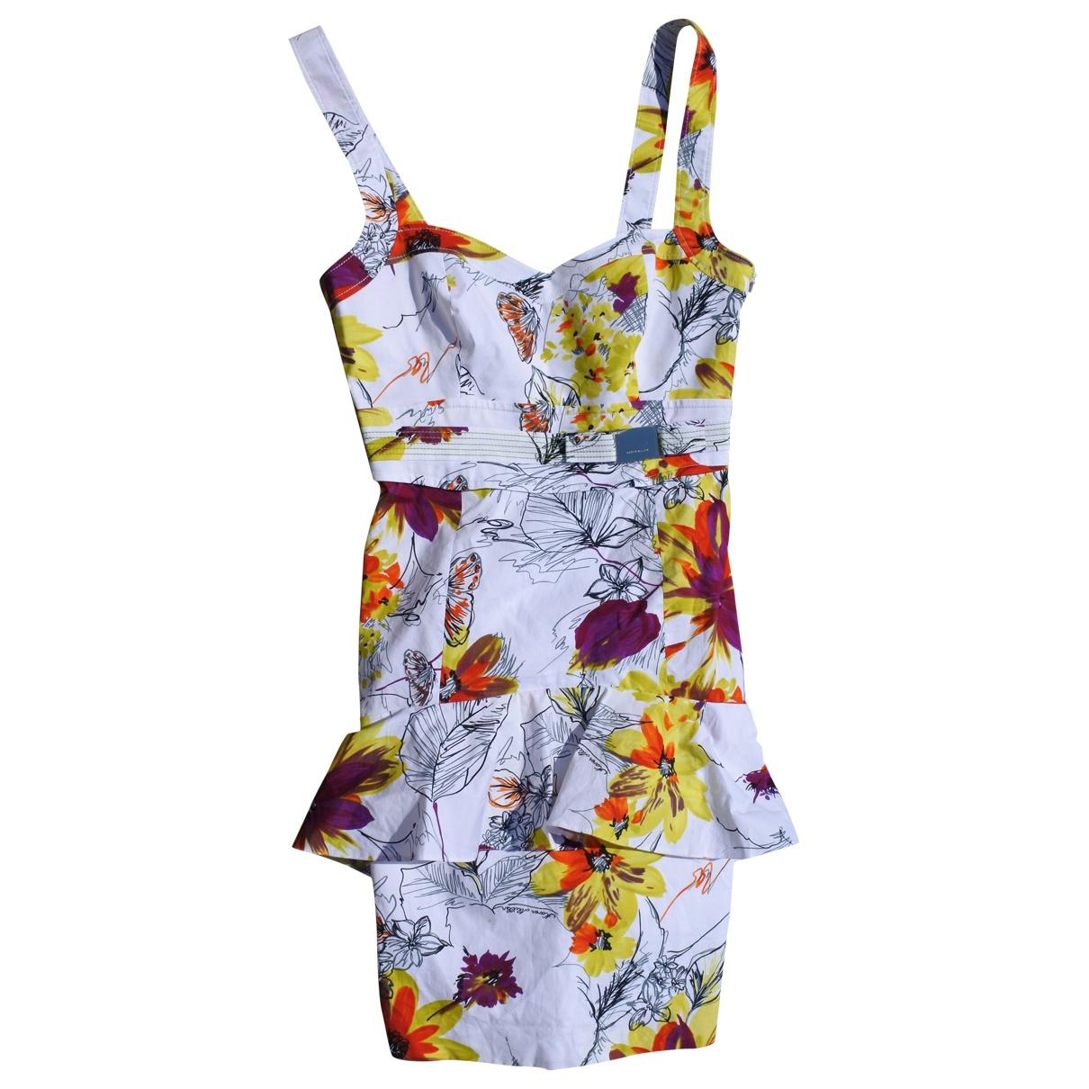 Karen Millen \N White Cotton dress for Women 40 FR