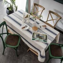 Tischdecke mit Streifen Muster