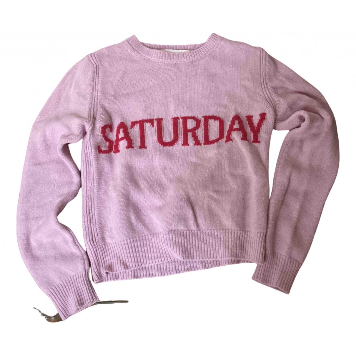 Alberta Ferretti - Pull   pour femme en laine - rose