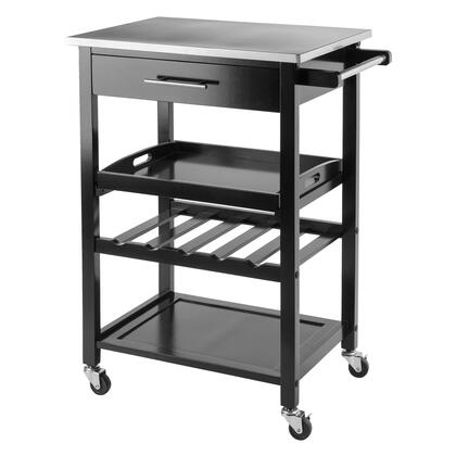 20326 Anthony Kitchen Cart Stainless