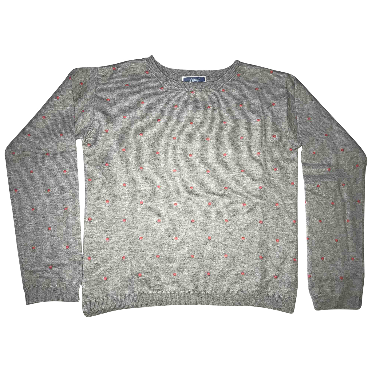 Jacadi N Grey Cotton Knitwear for Kids 6 years - up to 114cm FR