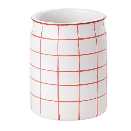 Landon Wastebasket, One Size , Orange