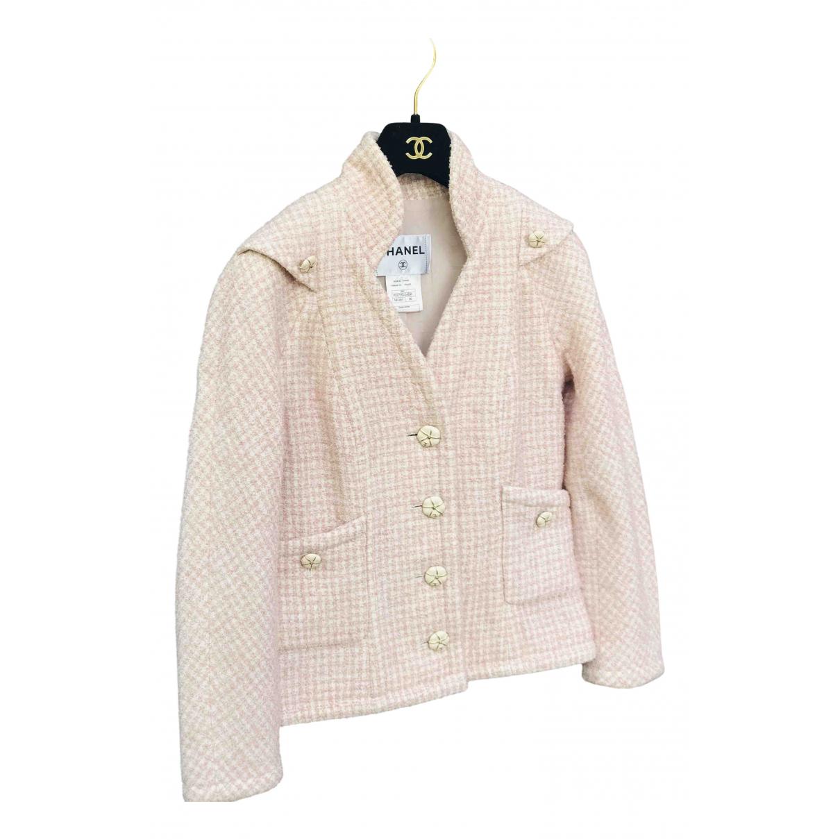 Chanel N Multicolour Tweed jacket for Women 36 FR