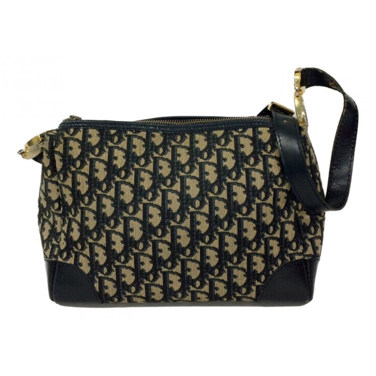 Dior \N Handtasche in  Braun Leinen