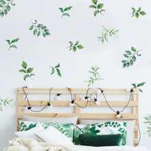 3pcs Leaf Pattern Wall Sticker