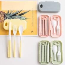 3pcs Foldable Cutlery Set