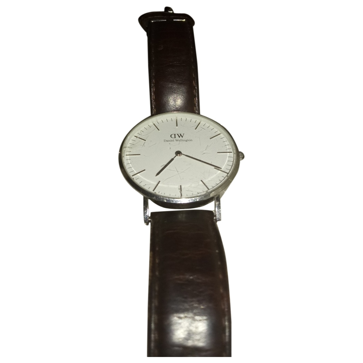 Daniel Wellington \N Camel Steel watch for Men \N