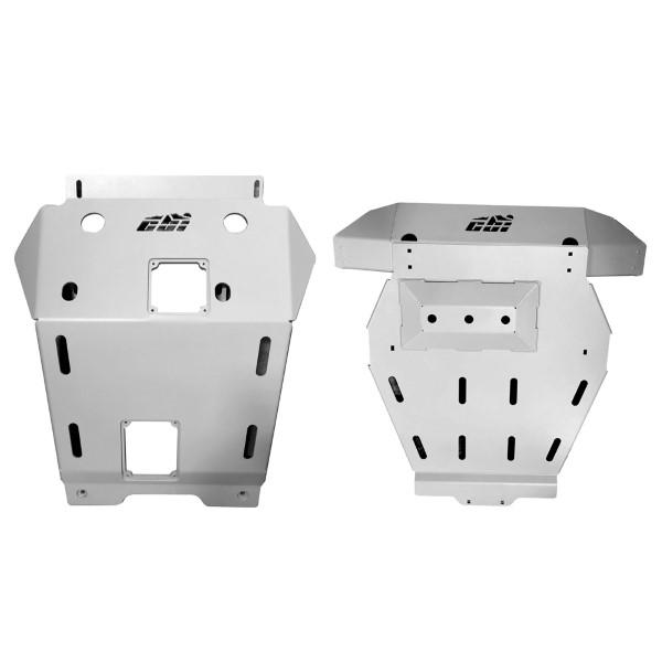 CBI Offroad T3-SKID-FULL-PRO Aluminum Full Skid Plates 3rd Gen Toyota Tacoma 16-18