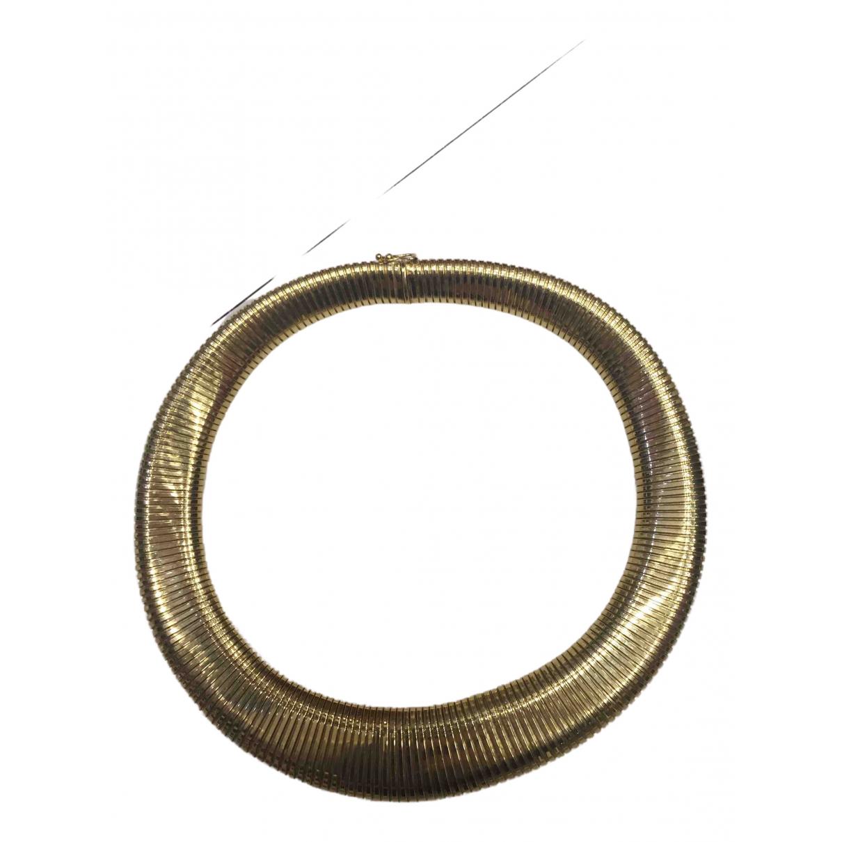 Collar Tubogas de Oro amarillo Bvlgari