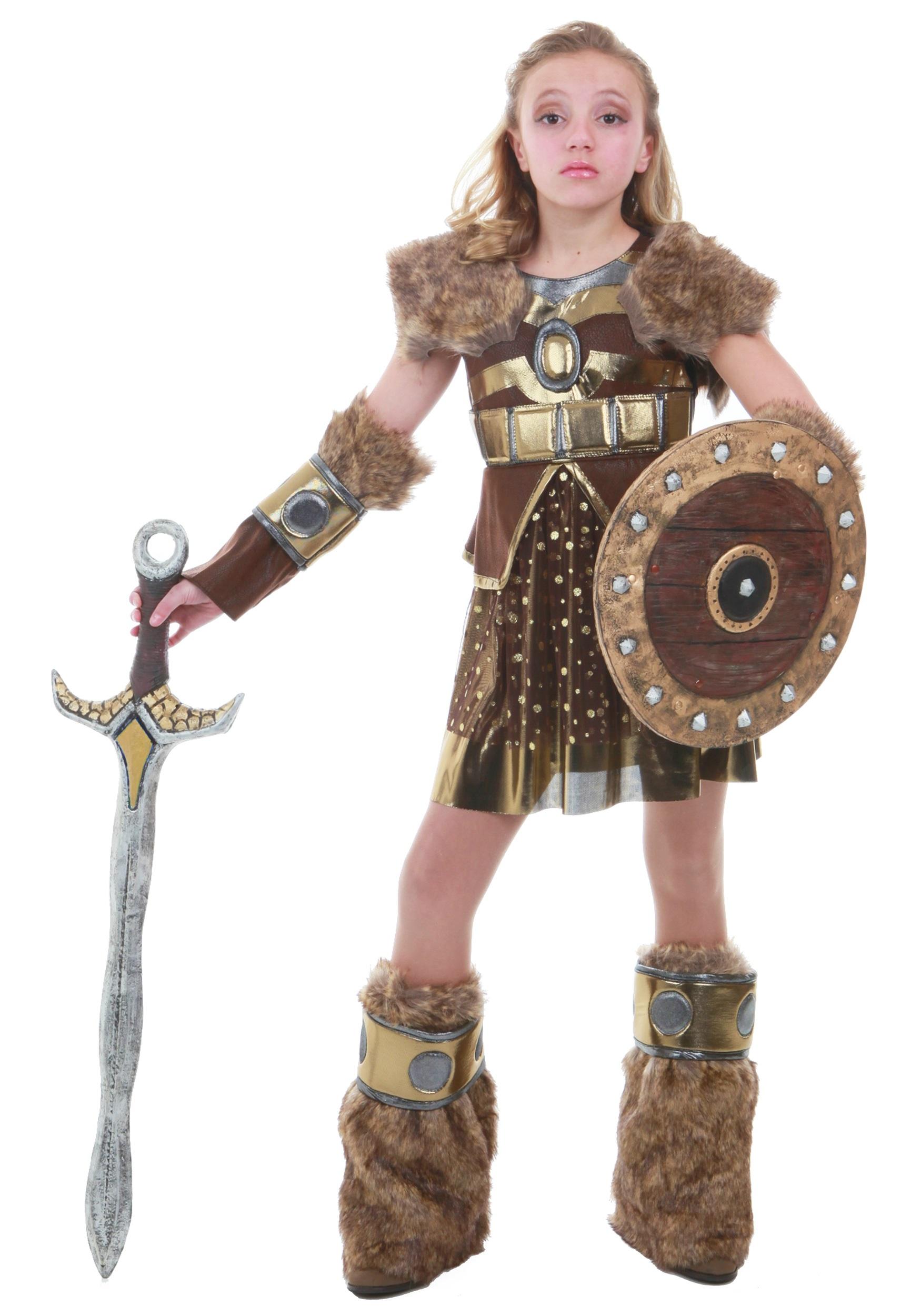 Hildagaard Viking Costume for Tweens