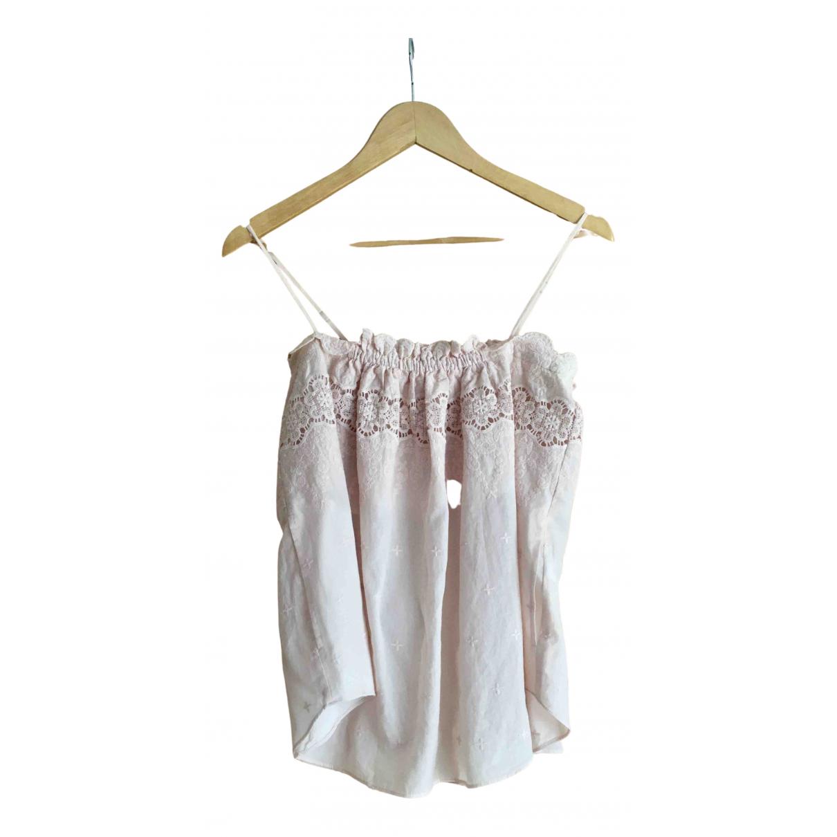Rebecca Taylor - Top   pour femme en coton - rose