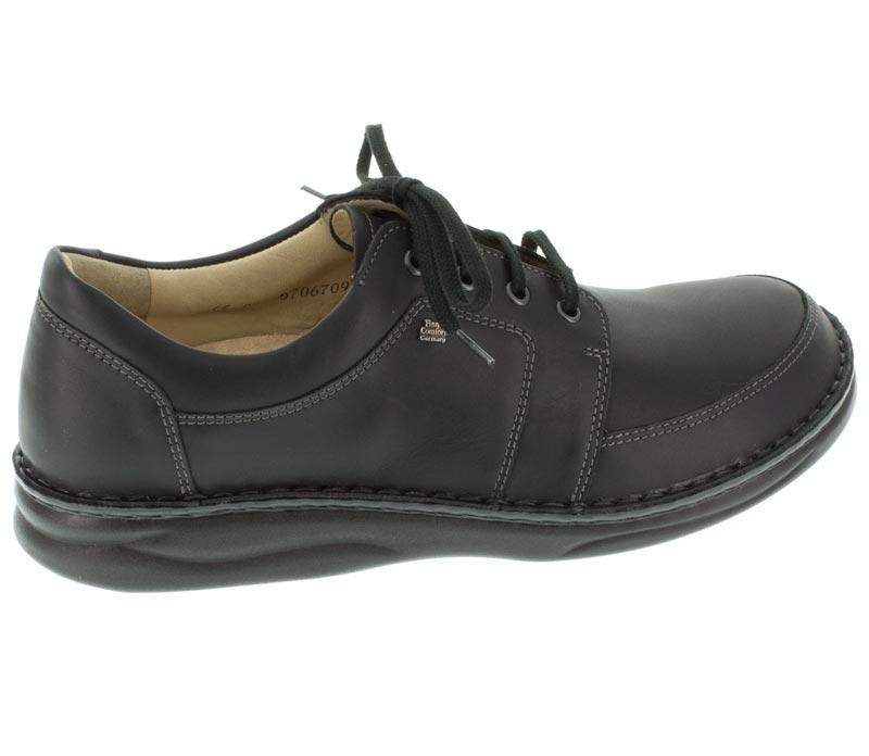 Finn Comfort Norwich Black Leather 85 Uk