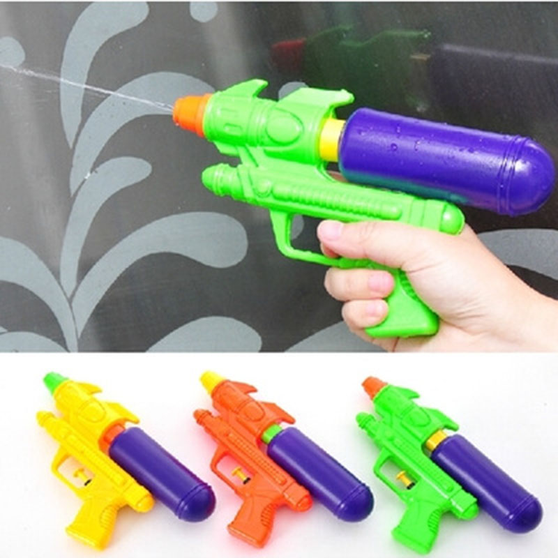 Plastic Unisex Bath Toys Children's Beach Toy Water Guns Color Sended at Random