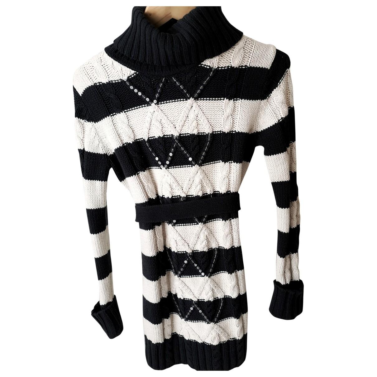Tommy Hilfiger \N Kleid in  Weiss Wolle