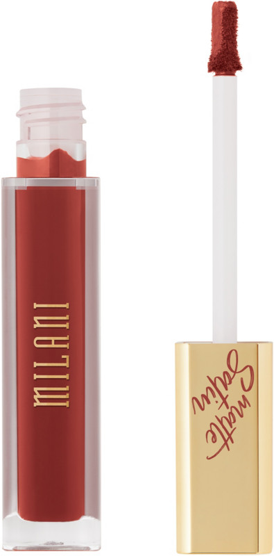 Amore Satin Matte Lip Creme - Indulge (Red Terracotta)