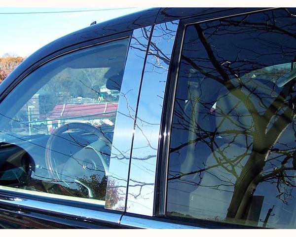 Quality Automotive Accessories 4-Piece Pillar Post Trim Kit Cadillac Escalade 2013