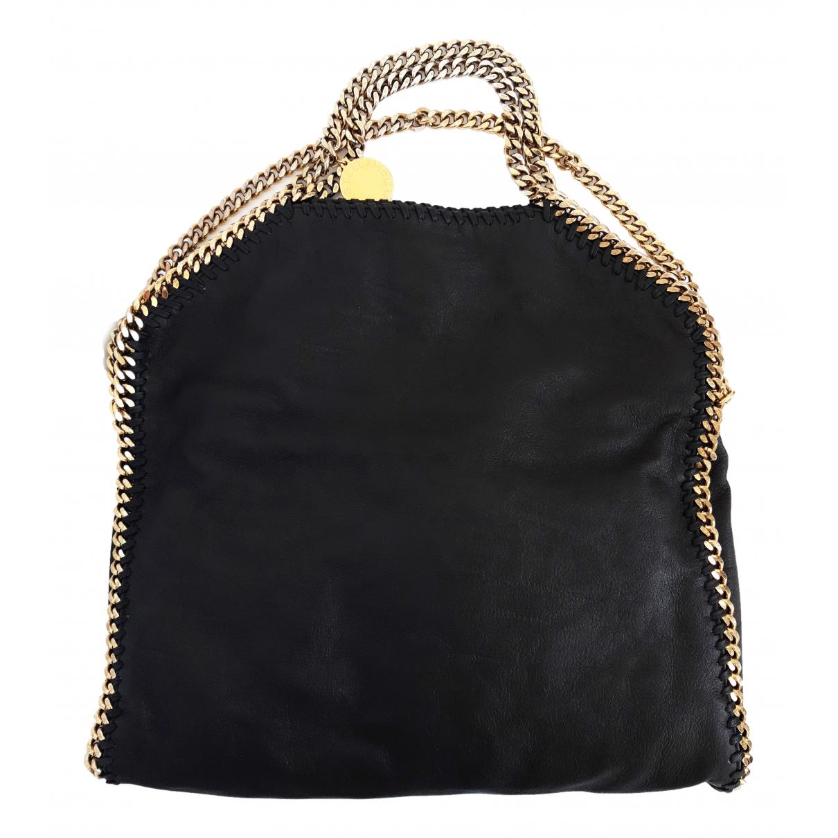 Stella Mccartney Falabella Handtasche in  Schwarz Polyester