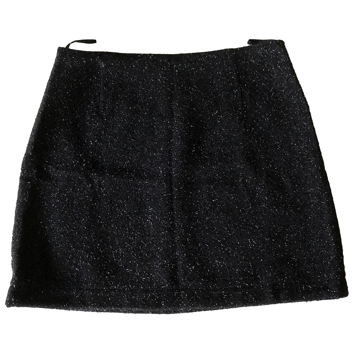 Chanel N Black Cotton skirt for Women 42 FR