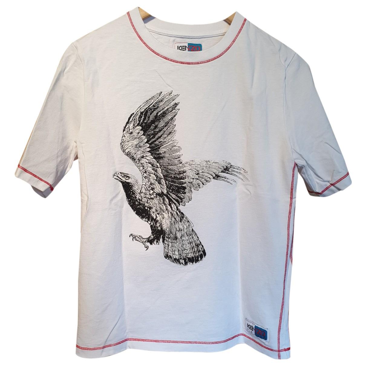 Kenzo \N T-Shirts in  Weiss Baumwolle