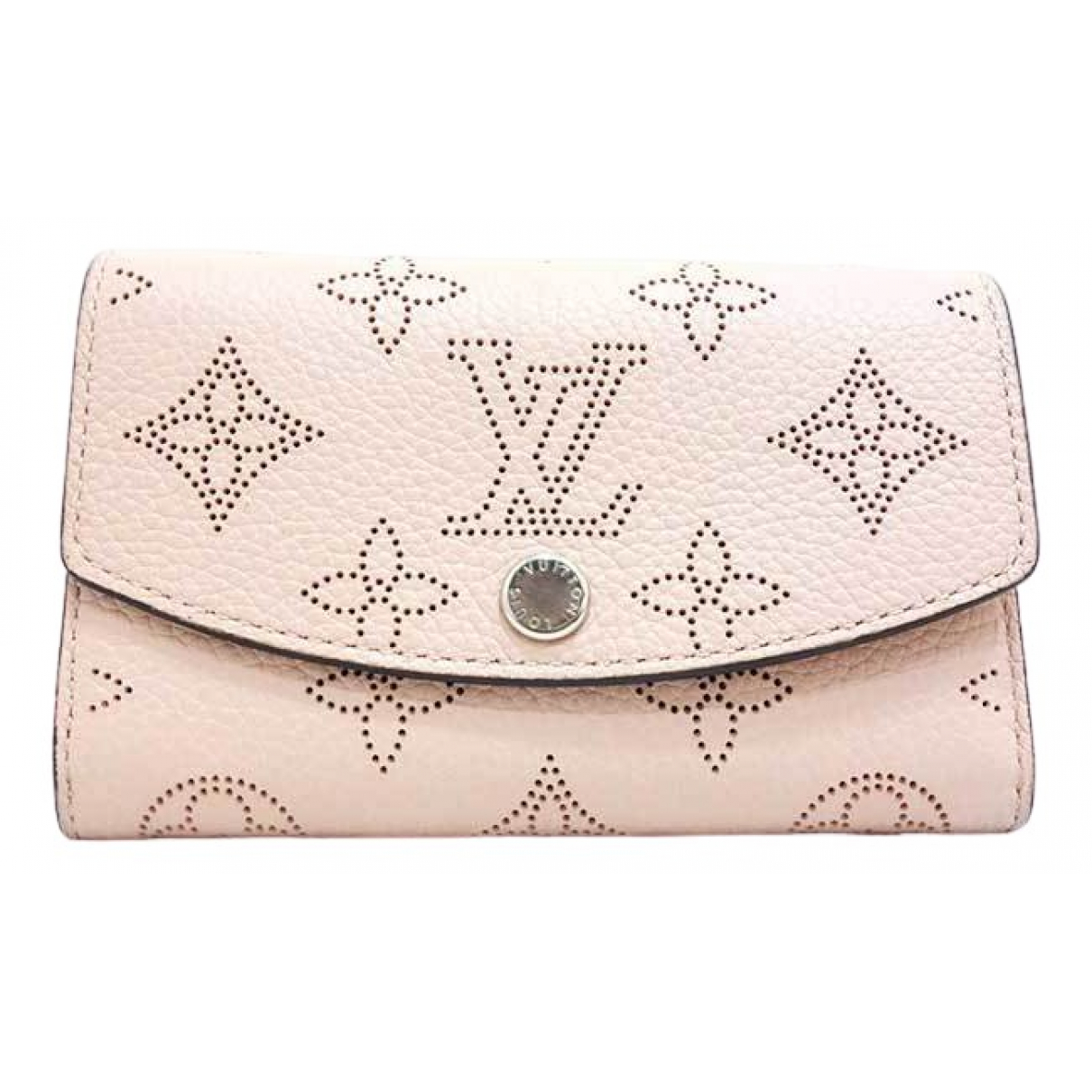 Louis Vuitton Mahina Pink Leather wallet for Women \N