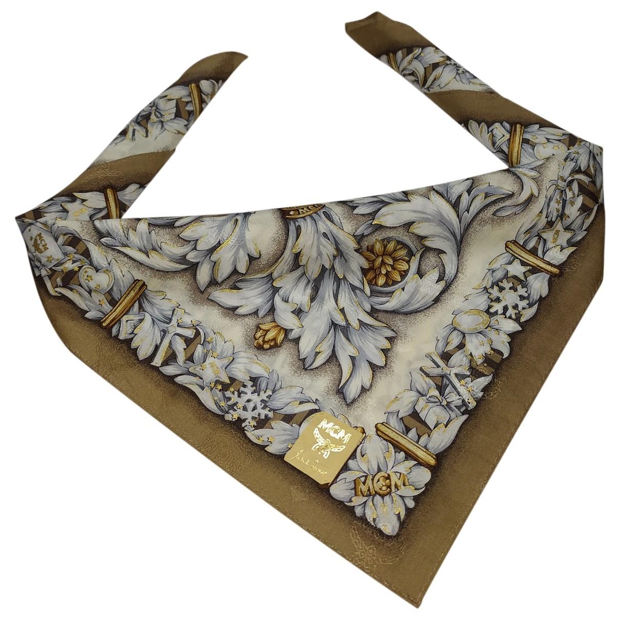 Mcm \N Multicolour Cotton Silk handkerchief for Women \N