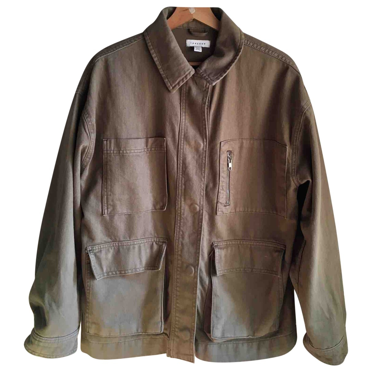 tophop \N Khaki Cotton jacket for Women S International