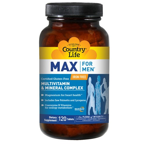 Max For Men 120 Tabs by Country Life