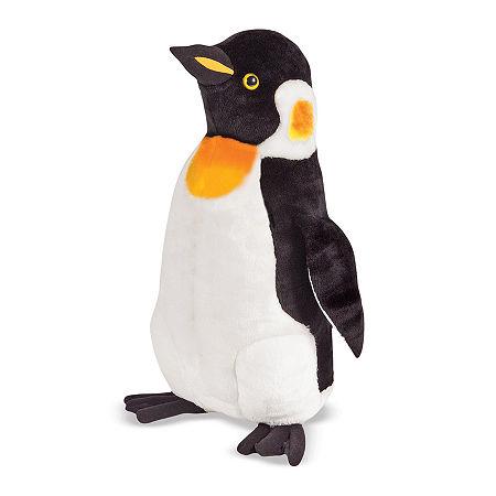 Melissa & Doug Penguin Plush, One Size , Multiple Colors