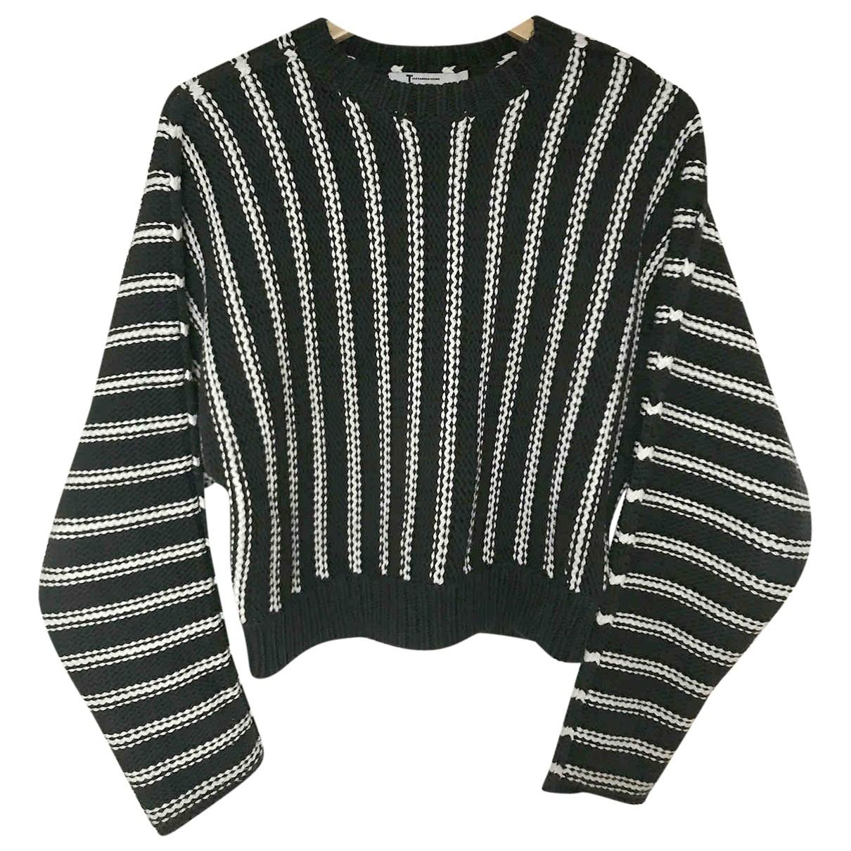 T By Alexander Wang \N Multicolour Cotton Knitwear for Women 38 FR