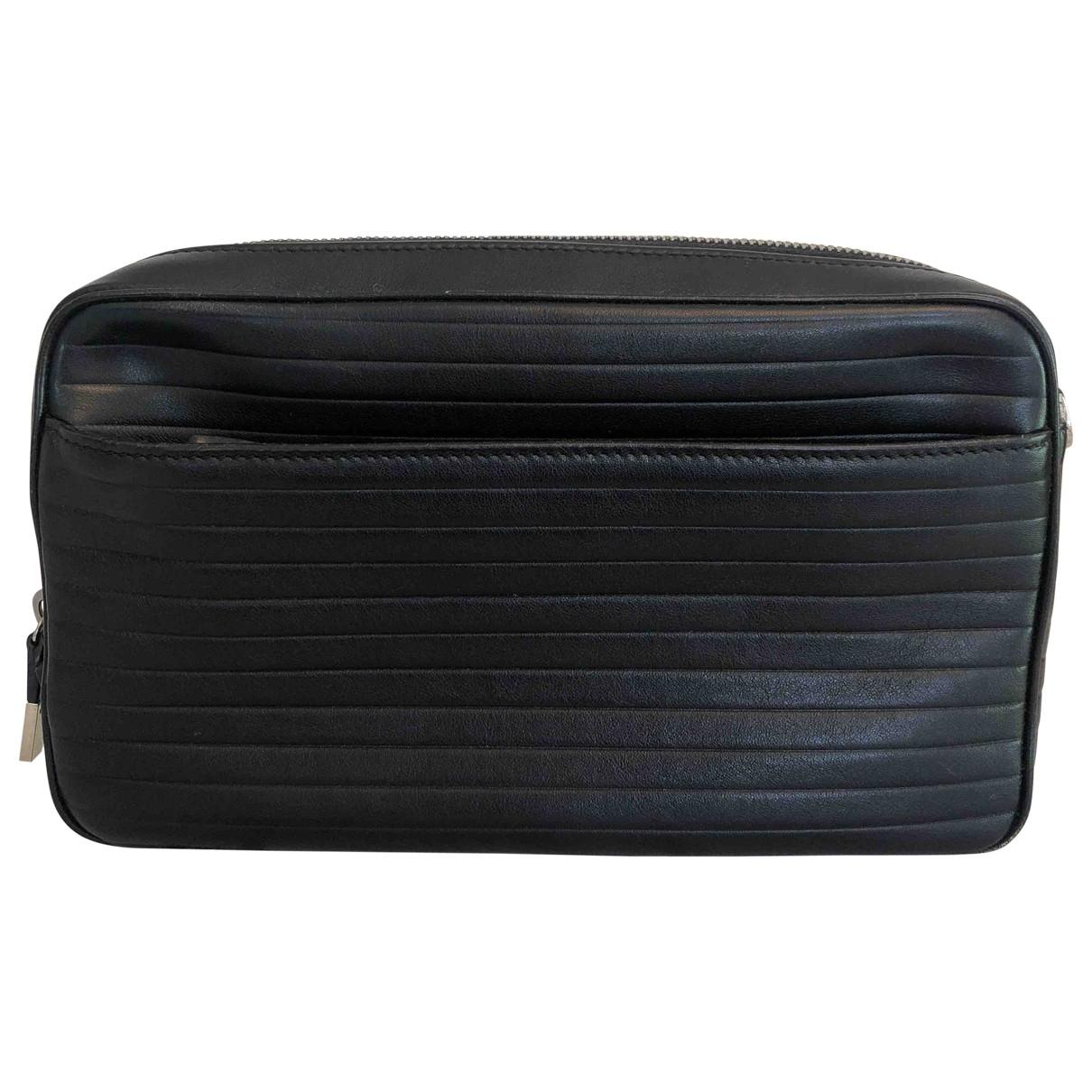 Dior Homme \N Taschen in  Schwarz Leder