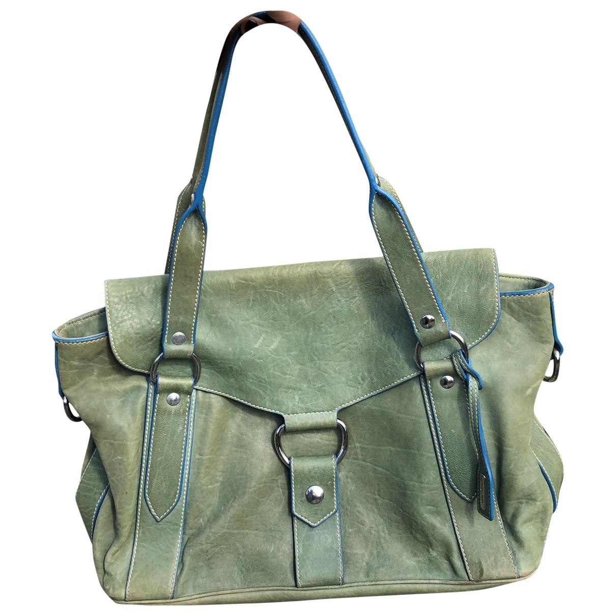 Miu Miu \N Handtasche in  Gruen Leder