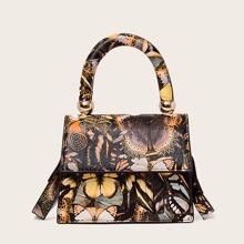 Mini Butterfly Satchel Bag