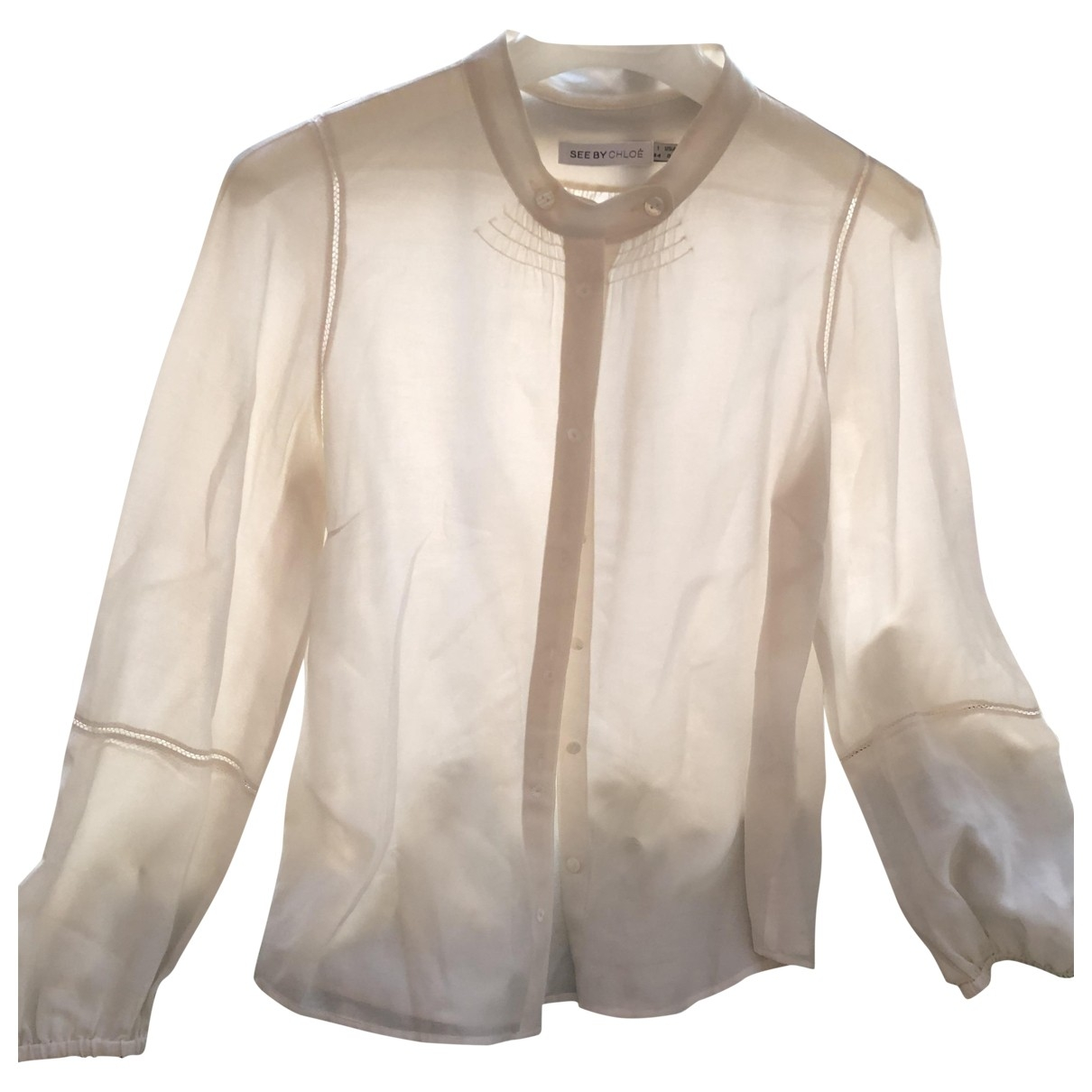 See By Chloé \N Beige Cotton  top for Women 8 US