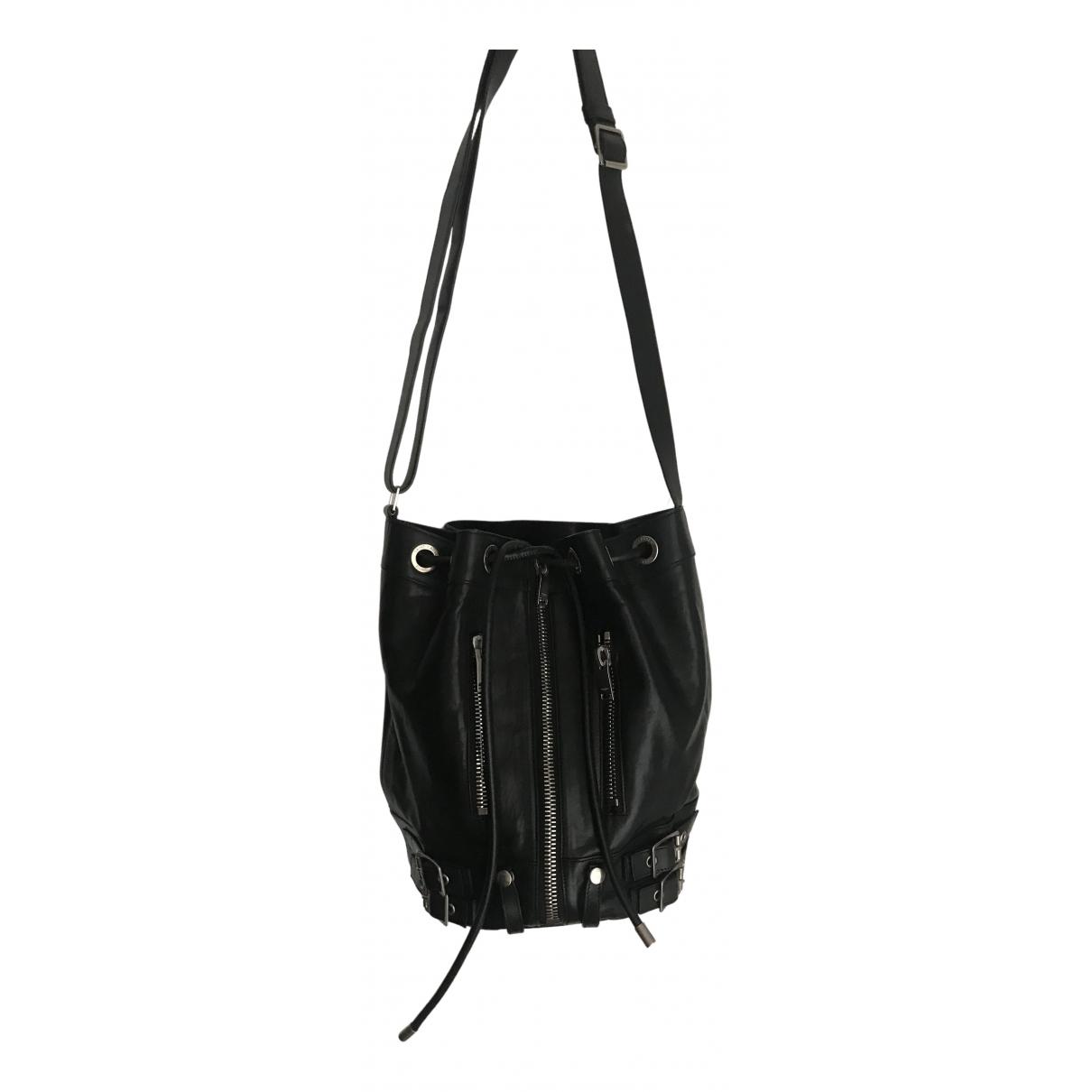 Saint Laurent \N Handtasche in  Schwarz Leder