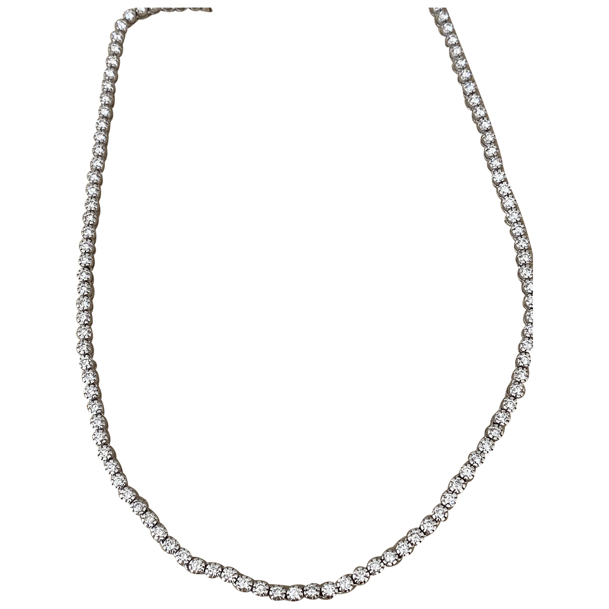 Non Signé / Unsigned N White gold necklace for Women N