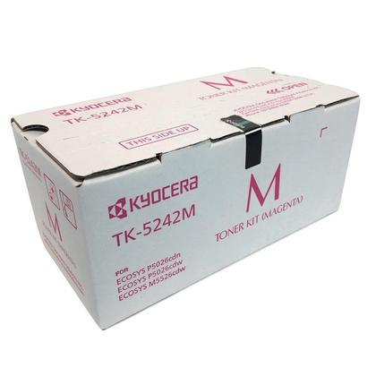 Kyocera Mita TK-5242M 1T02R7BUS0 Original Magenta Toner Cartridge